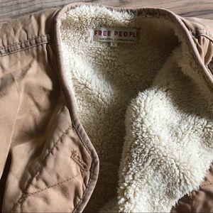 Free People Jackets & Coats - Free People Lined Sherpa Jacket